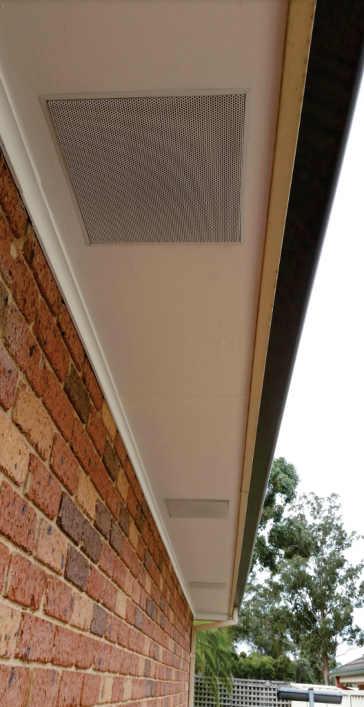 Eaves vents stainless steel